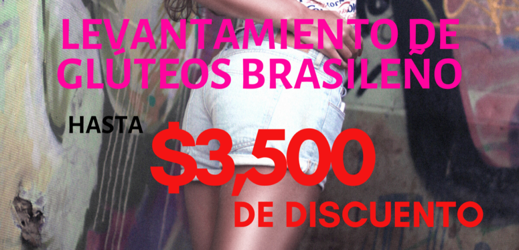 Brazilian butt lift until off cost promotion
