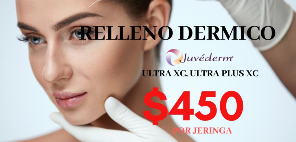 Relleno dermico Juvederm sales promotion